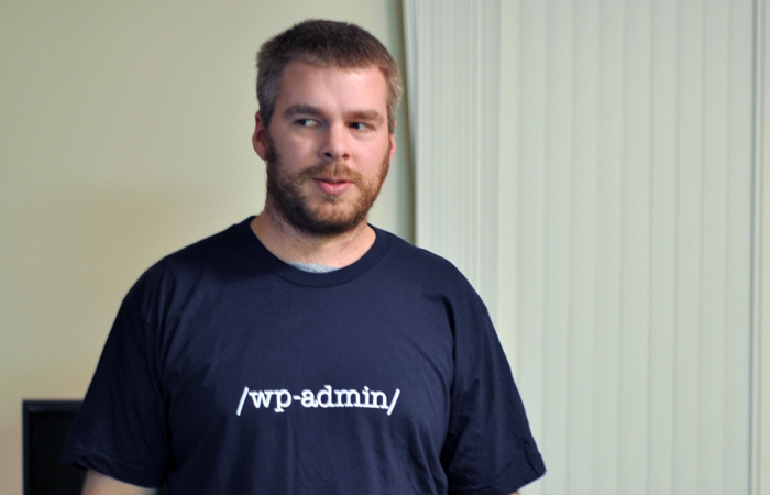 wp-admin WordPress shirt